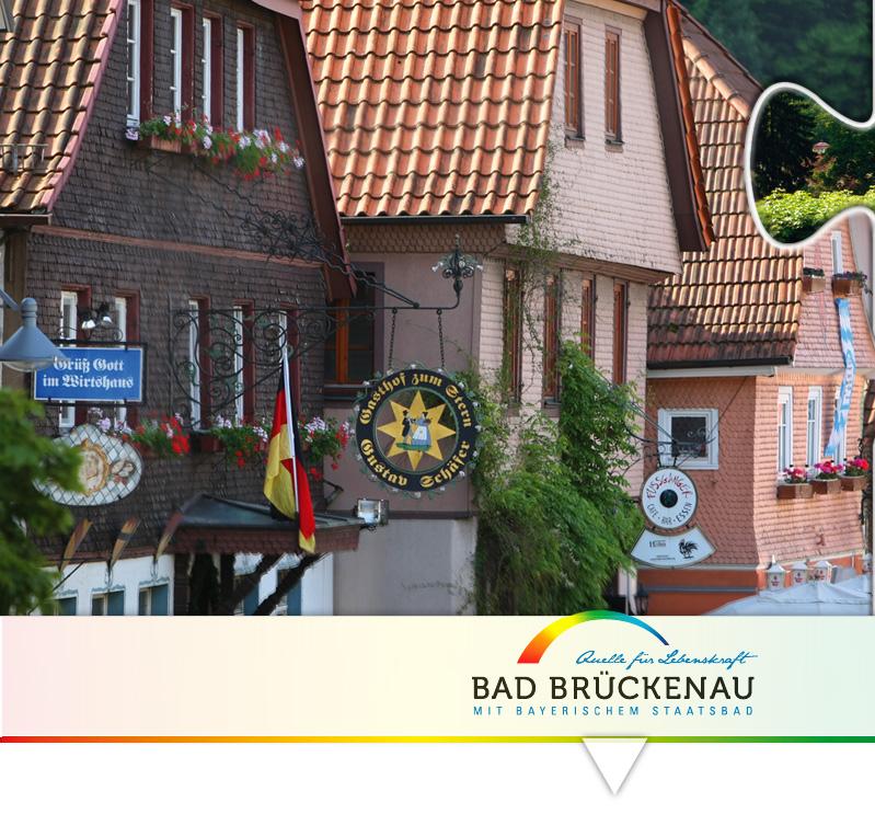 Bad Brückenau mit bayerischem Staatsbad